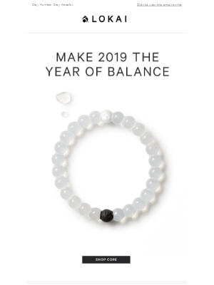 2019: The Year Of Balance