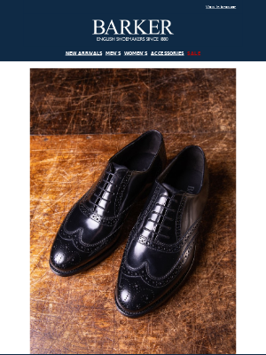 Barker Shoes - Back To Business | Factory Specials | New Arrivals | Free UK Shipping On Orders Over £150