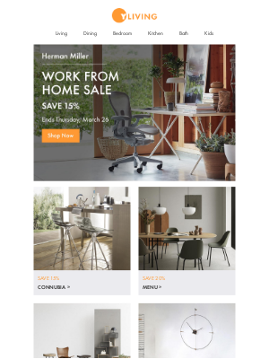 Herman Miller Work From Home Sale: Save 15%