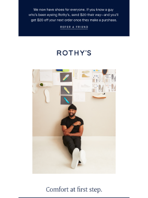 Rothy's - We have a thing for comfort.