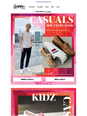 Journeys - Casuals for every look