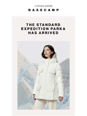 Canada Goose (CA) - OUR NEW STANDARD IS HERE