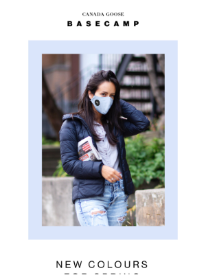 Canada Goose (CA) - New masks for Spring