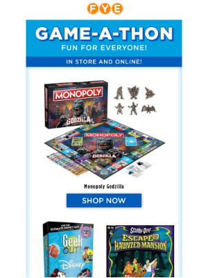 Bored? Games for the whole family!
