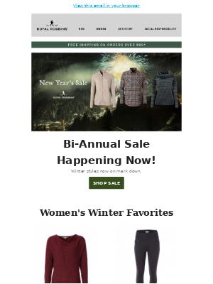 Flash Sale on 2018 Winter Travel Gear