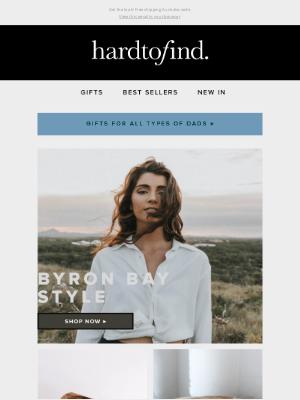 HardToFind AU - The Byron Bay edit 🐚