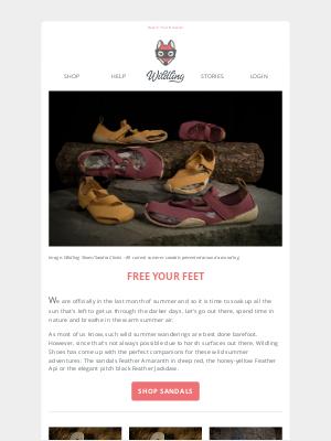 Wildling Shoes (UK) - Soak up the sun