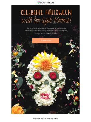 BloomNation - Send Something Spooktacular!