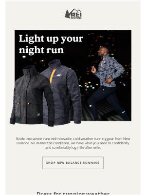 REI - Warm Up Your Winter Run