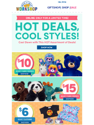 🔥 SALE! 🔥 Cool Off with These HOT Offers!
