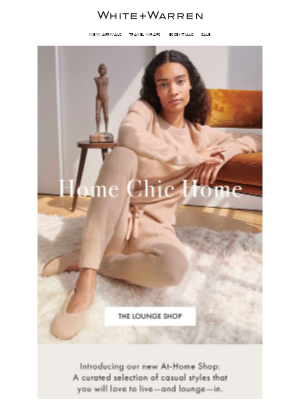 White + Warren - Head-to-Toe Cashmere Is Here