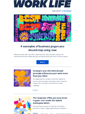 Atlassian - Full disclosure: business jargon undermines your message