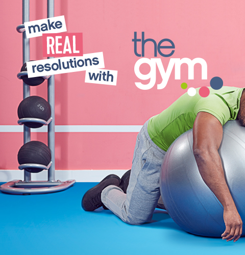 Make real resolutions with the gym