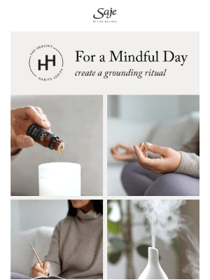 Saje Natural Wellness - Mindful diffusing—it's a thing