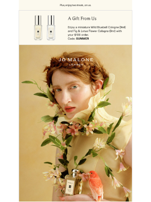 Jo Malone - Floral focus: the sunny one