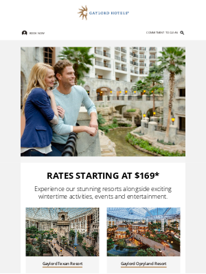 Gaylord Hotels - Book Winter stays from $169