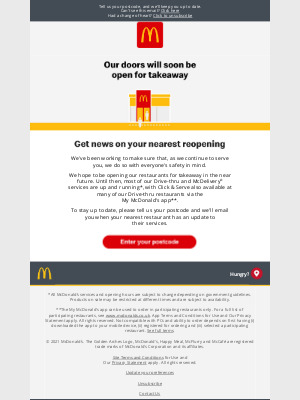 McDonald's (UK) - Want the latest news on your nearest restaurant?