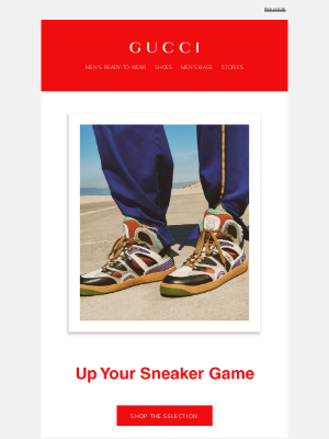 Gucci (UK) - Up Your Sneaker Game with the Gucci Basket