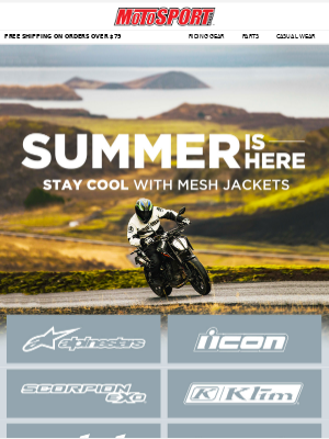 Summer Is Here | Stay Cool With Mesh Jackets
