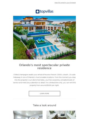 - Orlando's most spectacular private residence