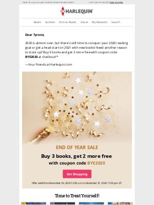 Harlequin - Goodbye 2020, hello sale! 👋