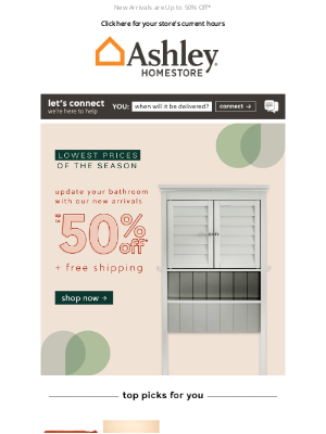 Ashley Furniture HomeStore - New Arrivals on Sale! Get a First Look 👀