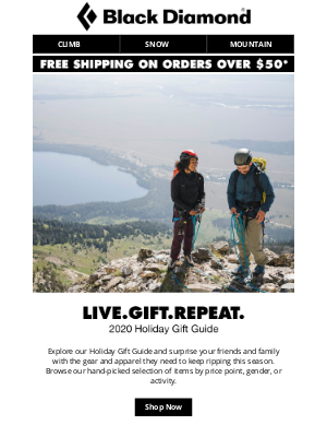 Black Diamond Equipment - Introducing the 2020 Holiday Gift Guide