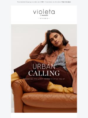 MANGO (US) - NEW IN | Urban Calling
