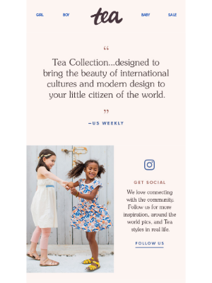 Tea Collection - We Have a Lot to Tell You...