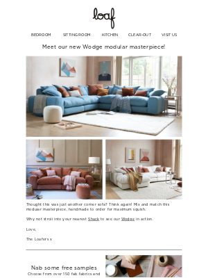 Loaf (UK) - Introducing our NEW Wodge!