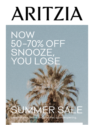 Now 50–70% Off