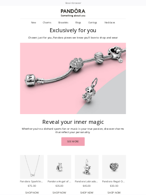 Pandora Jewelry USA - Discover jewelry that celebrates the things you love  🎉