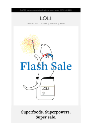 LOLI - Our 4th of July Sale is Here! 🇺🇸