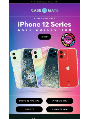 Case-Mate - Grab Your iPhone 12 Pro Max Case Today! 50% Off Screen Protectors & Black Friday Deals!