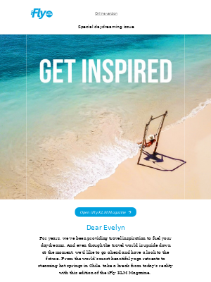 KLM - We have new travel inspiration for you