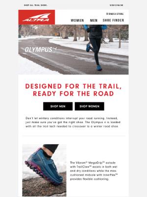 Altra Running - Get ready for winter road running