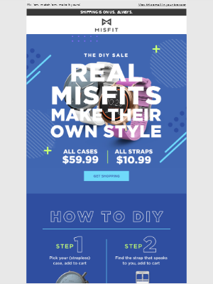 Misfit - Do it yourself and save big!