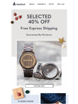 🎁40% Off + FREE Express Shipping
