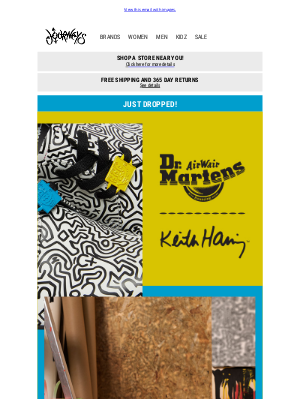 Journeys - JUST DROPPED: Dr. Martens x Keith Haring