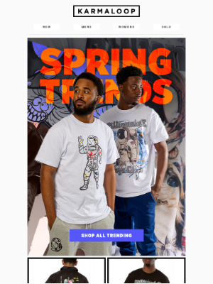 Karmaloop - SPRING HEAT: Icecream, Kappa, HUF & more