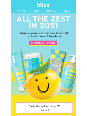 Bliss - The Reviews Say It All… 🍋