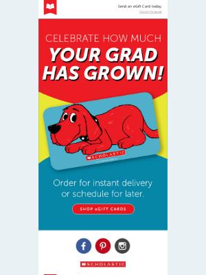 Scholastic - Say Congrats to Grads!