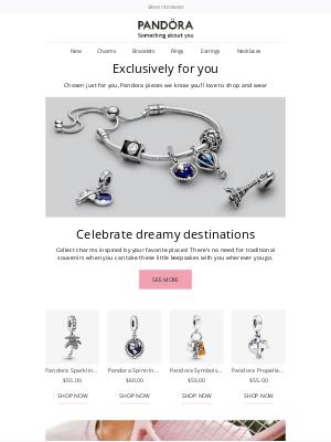 Pandora Jewelry USA - Celebrate your love of travel with jewelry 🌍