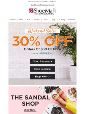 ShoeMall - Happy Weekend, Happy Savings!