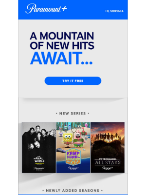 CBS - Try Paramount+ with 1 week FREE & explore new series, seasons & more!