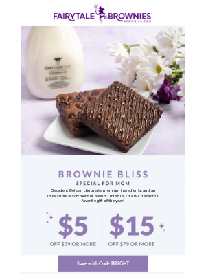 Fairytale Brownies - Up to $15 off the BEST gift for Mom