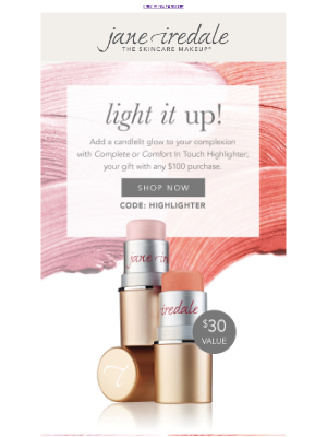 jane iredale - You'll be glowing with this gift