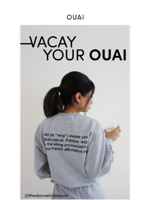 OUAI HAIRCARE - New Merch Just Dropped