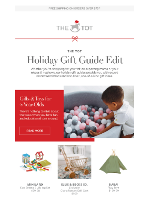 The Tot - Holiday Gift Guide: Gifts & Toys for 2-Year-Olds