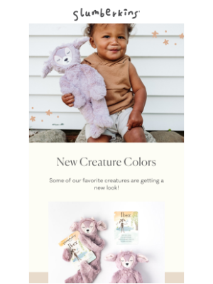 Slumberkins - NEW Creature Colors are Here💜